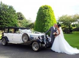 Beauford wedding car hire in Sheffield